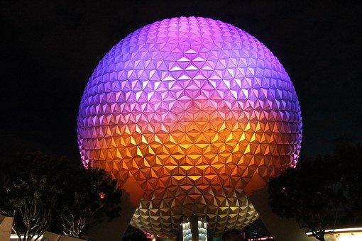 Epcot Center, Disney, Orlando, Florida