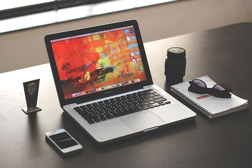 Laptop, Mockup, Business, Office, Iphone